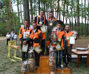 На Сумщині відбулись двадцяті обласні змагання вальників лісу