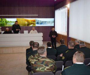 """На базі ДП """"Кролевецьке лісомисливське господарство"""" проведено колегію Сумського ОУЛМГ"""