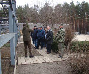 Нещодавно лебединські лісівники відвідали тростянецьких колег
