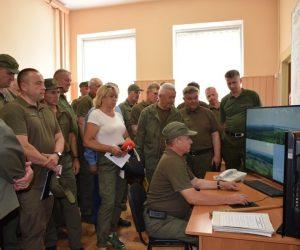 Виїзне засідання колегії Сумського ОУЛМГ пройшло на базі Лебединського лісгоспу
