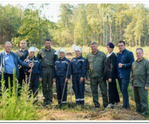 Юрій Болоховець побував у Сумському обласному управлінні лісового та мисливського господарства