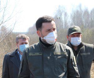 Великі лісові пожежі на Житомирщині локалізовані, ситуацію контролюють лісівники, – Голова Держлісагентства
