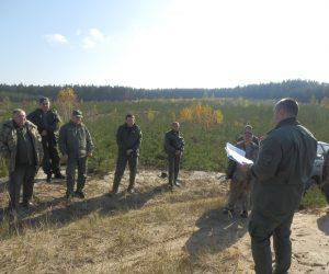 """Відбулася виїзна технарада ДП """"Лебединський лісгосп"""" на базі Боровеньківського лісництва."""